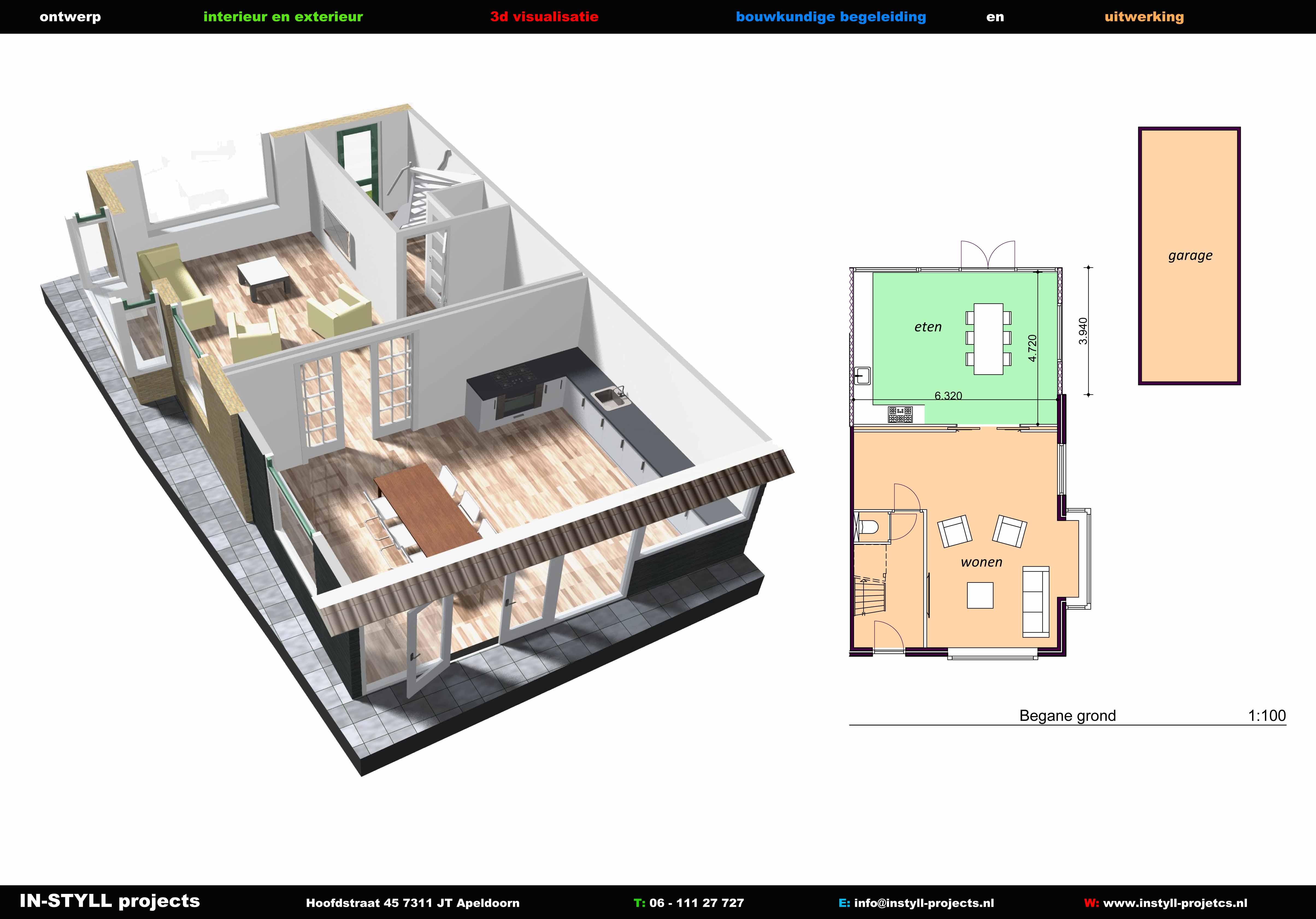 Uitbreiding bestaand woonhuis