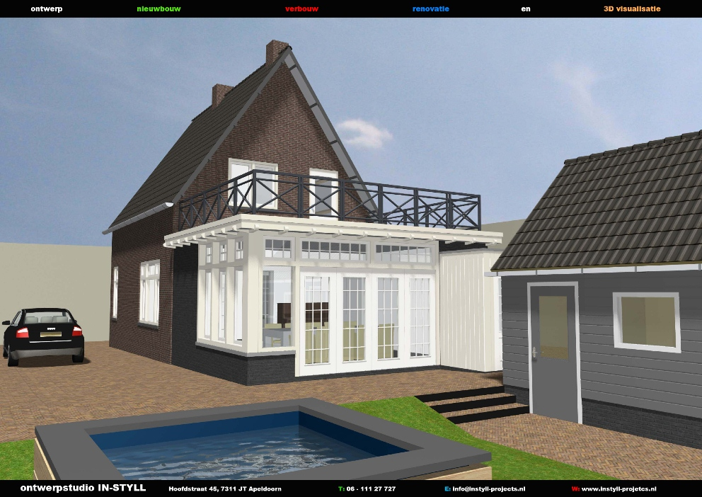 In styll projects - Uitbreiding huis glas ...