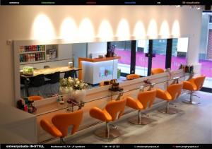 Interieur kapsalon Hair Design Apeldoorn « IN-STYLL projects